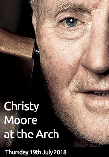 Christy Moore plays the Arch Centre